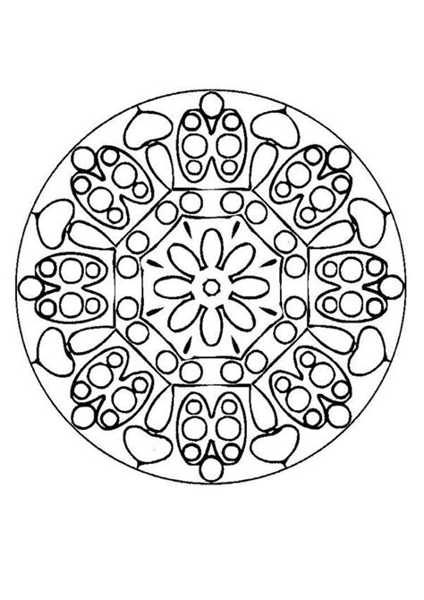 free coloring pages of expert level mandalas