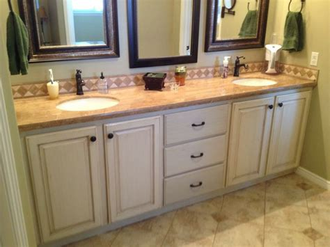 how to refinish a bathroom cabinet 15 best images about refinished cabinets on pinterest