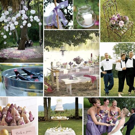 creative outdoor summer wedding decoration