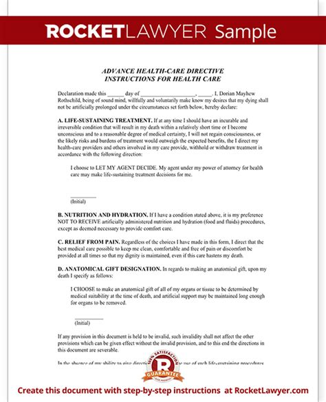 will new mexico receipt template living will new mexico nm advance directive form with