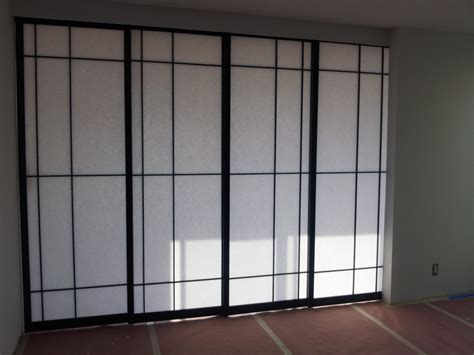 Acrylic Room Divider Permanent Room Partitions With Black Steel Frame Also White Acrylic Door Panel Placed On Gray