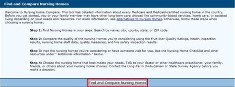 compare nursing homes for free