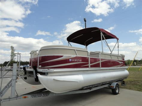 sunchaser pontoon boat prices used sunchaser pontoon boats for sale boats