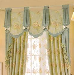 green valance curtains country curtains beautiful light green floral jacquard no
