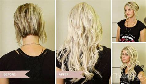 see what a difference quality extensions make before 72 best hair extensions before and after images on