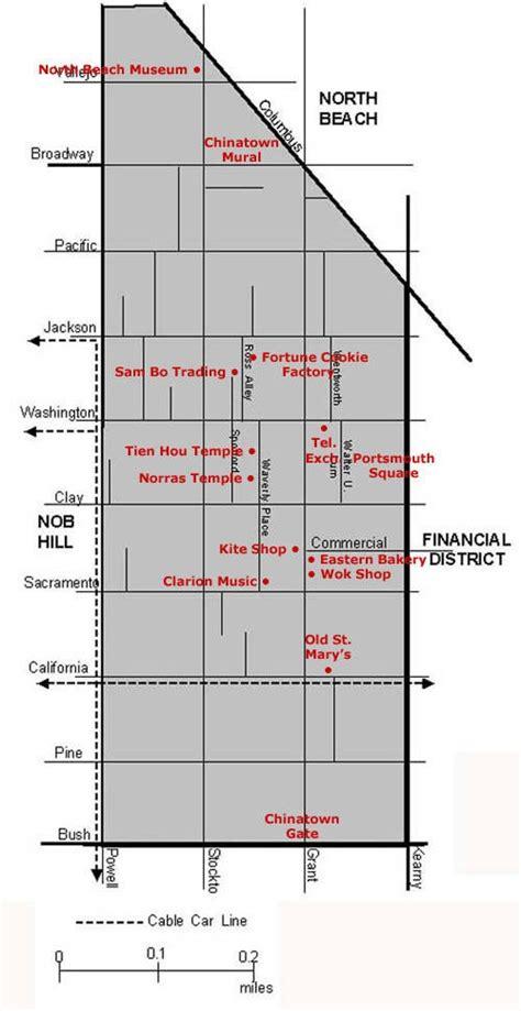 san francisco map chinatown san francisco chinatown map a travel wish list