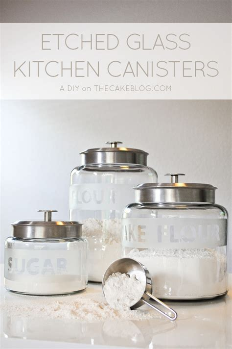 what to put in kitchen canisters diy revitalize your kitchen canisters