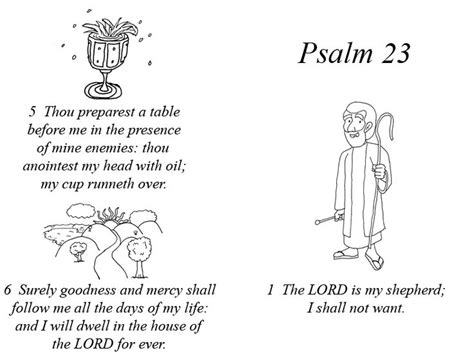 psalm 23 page 1 by gravelstudios deviantart com on