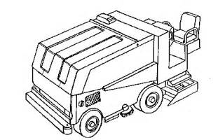 Zamboni Coloring Pages Sketch Page sketch template