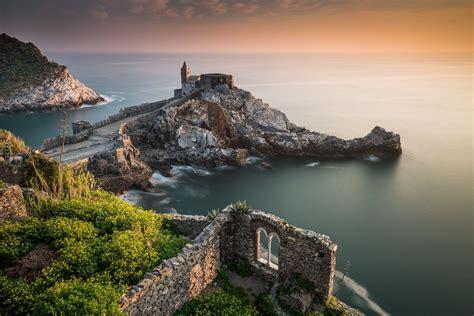 porto venere liguria church of st porto venere liguria italy ligurian sea
