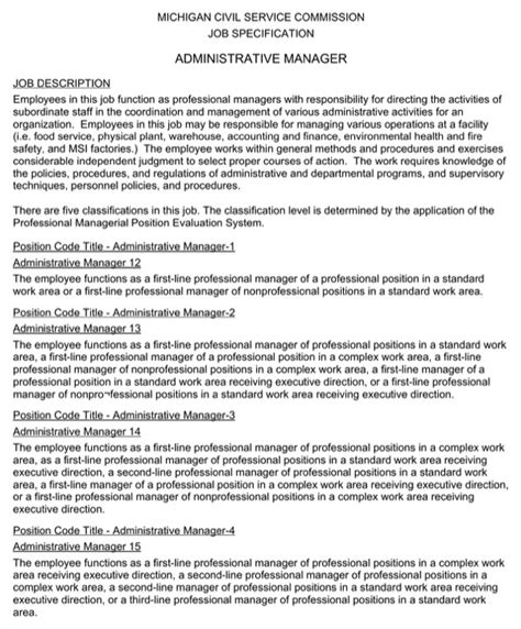 Administrative Manager Resume by Administrative Manager Resume For Free Formtemplate
