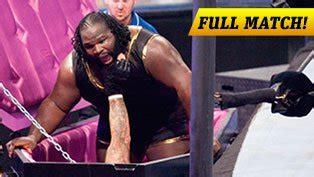 undertaker bench press mark henry def ryback wwe com