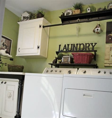 15 Laundry Room Wall Decor Ideas With Low Budget Decorating Laundry Room
