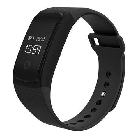 A09 BLE4.0 Heart Rate/Blood Pressure Monitoring Smart Bracelet   Black