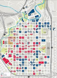 map of downtown houston houston downtown parking map