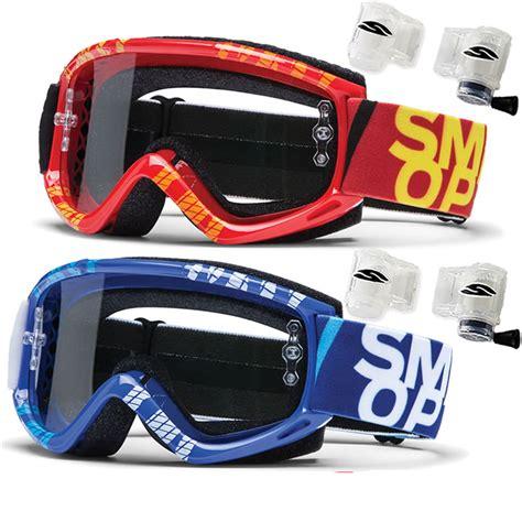 smith optics motocross goggles smith optics fuel v 1 v1 max strobe mx roll system
