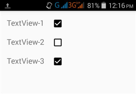 android layout checkbox set checkbox align right side of textview in android xml