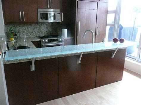 Glass2 Countertops by Raised Glass Countertop For Area And Bars Cbd Glass