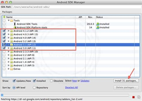 android sdk mac mac ตอนท 3 การต ดต ง android adt plugin และ android sdk สำหร บการเข ยนโปรแกรม android mac