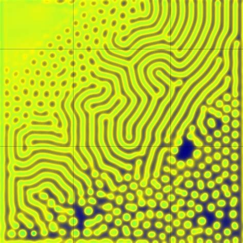 pattern formation pde screensavers by robert munafo at mrob