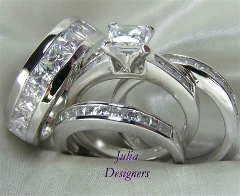 Wedding Rings His And Hers Cheap by Cheap Wedding Ring Sets His And Hers Matvuk