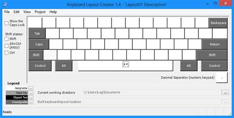 layout italian keyboard microsoft keyboard layout creator modificare il layout