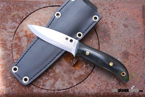 spyderco bushcraft knife review spyderco bushcraft knife black g 10 fixed blade 4 in