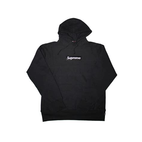 New Supreme Hoodie Original Black Box Logo black box logo pullover supreme hoodie dopestudent