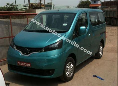 nissan 7 seater car in india autos weblog