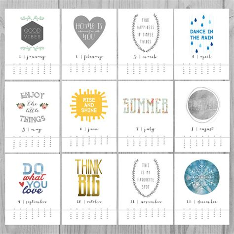 printable quote calendar 2016 monthly quotes image quotes at hippoquotes com