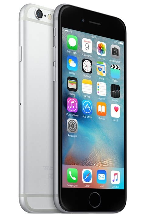 iphone apple iphone 6 32go gris sideral 4302273 darty