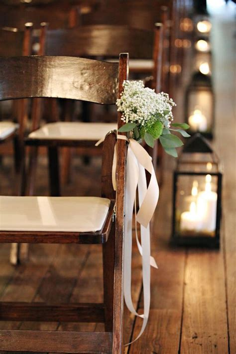 Baby S Breath Wedding Aisle 23 baby s breath wedding decor ideas and