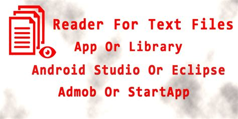 text reader for android reader for text files android app source code books app templates for android codester