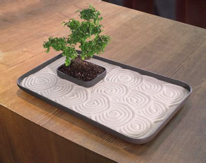 Bonsai Coffee Table 24 Inch Large Indoor Zen Garden Kit For Tabletop With Sand