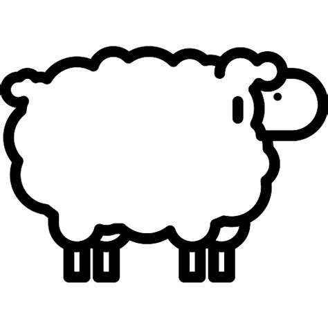 sheep free animals icons