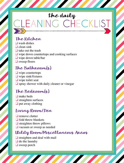 best 25 weekly cleaning checklist ideas on house cleaning checklist cleaning
