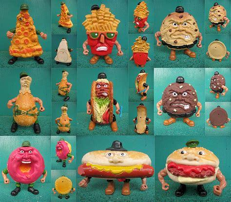 Mainan Figure Anak Fast Food Toys 2 food fighters figure mattel flickr photo