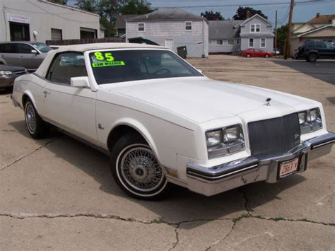 auto air conditioning repair 1985 buick skyhawk engine control buick riviera coupe 1985 white for sale 1g4ez67y1fe447051 1985 buick riviera luxury convertible