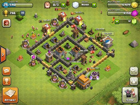 best layout in coc th5 clash of clans top 10 th9 farming base layouts chainimage