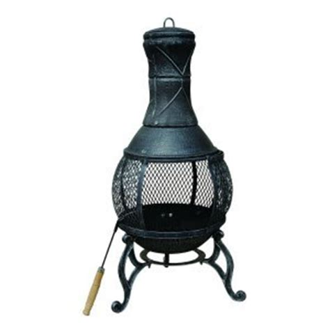 chiminea cap kara medium cast iron chiminea