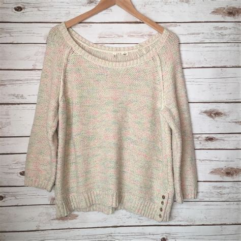 7 Gorgeous Sweaters By Moth by Anthropologie Moth By Anthropologie Rainbow Sweater Size