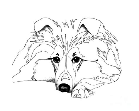 sheep dog coloring page sheepdog coloring download sheepdog coloring