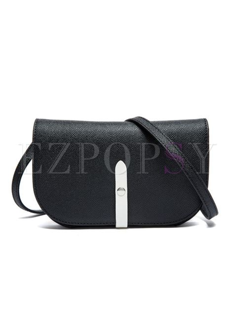 Push Lock Crossbody Bag brief cowhide push lock crossbody bag ezpopsy