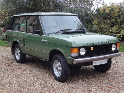 vintage range rover for sale range rover 2 door restoration for sale car and