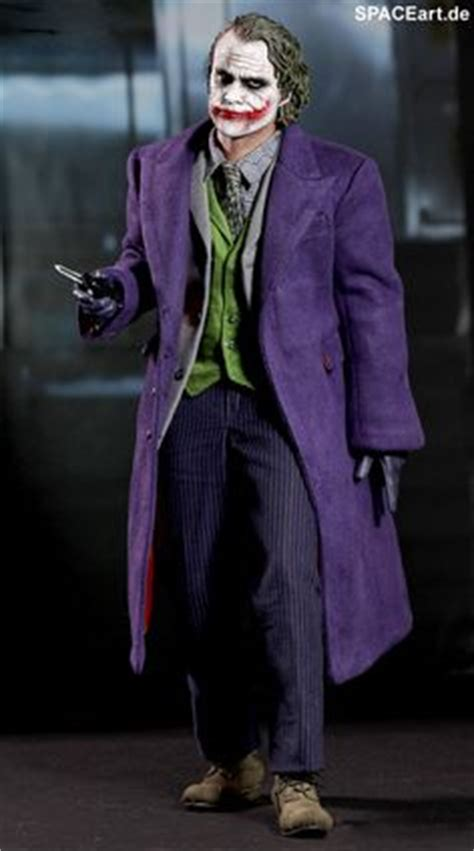 Model Rambut Joker by Original Costume Worn By Heath Ledger As The Joker In 2008