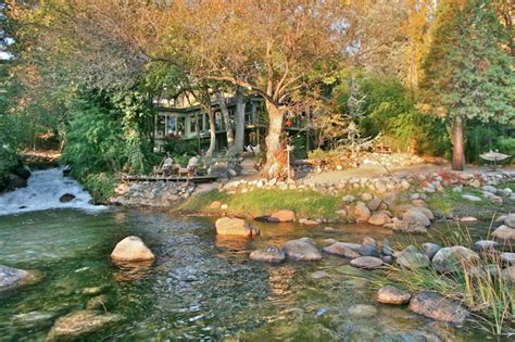 kaweah falls house  river runs