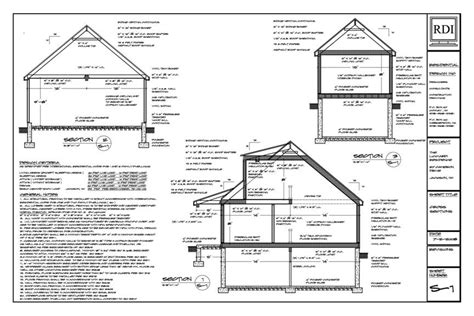 foundation layout exles foundation plan drawing
