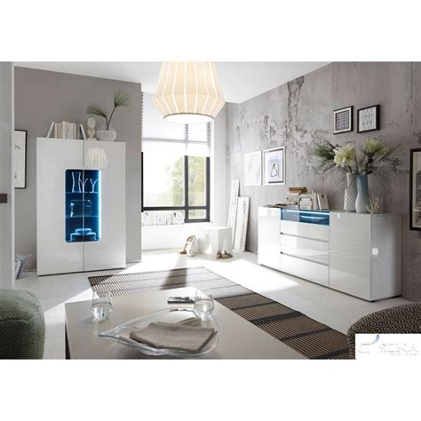 Lima High Gloss Lacquered Sideboard Sideboards Sena Lima Bedroom Furniture