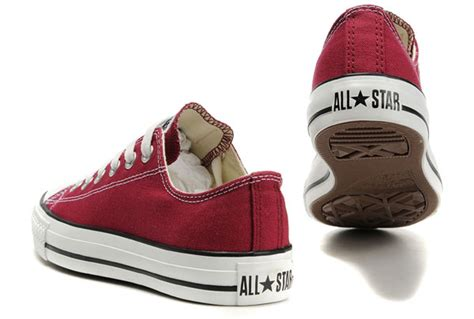Sepatu Converse All Clasic Size 37 43 converse chuck all maroon low top canvas shoes
