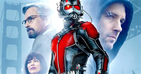 ant man movieweb movie news movie trailers movie marvel s ant man poster unites the main cast movieweb